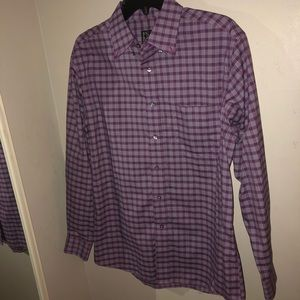 jos. a. bank vibrant purple dress shirt
